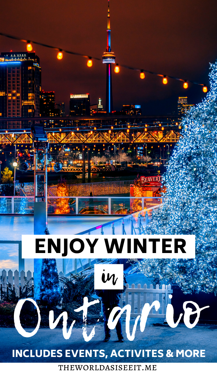 10 Awesome Ways to Enjoy Winter in Ontario ⋆ The World As