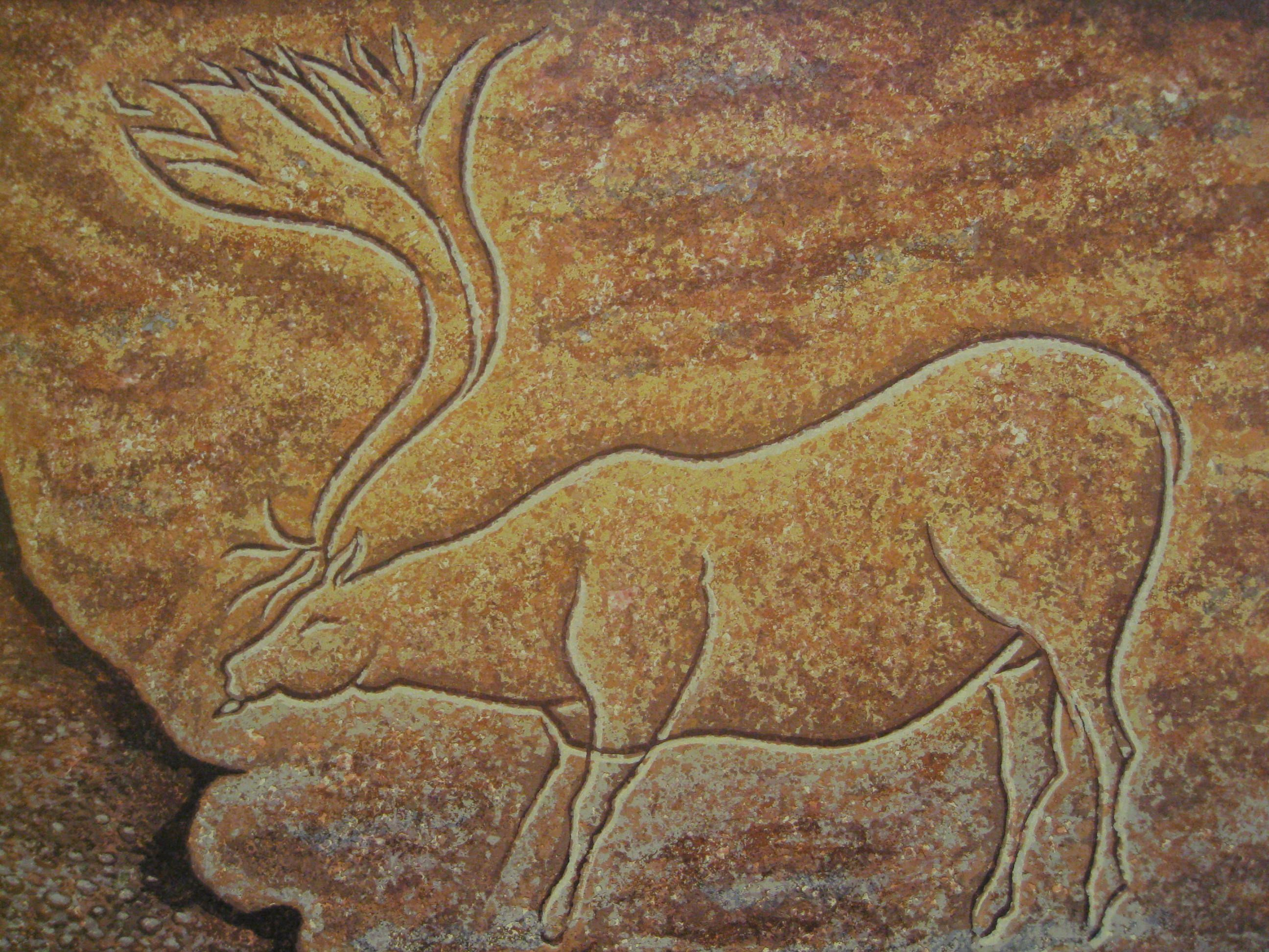Lion Man Cave Art : Before the discovery of this art prehistoric artifacts found