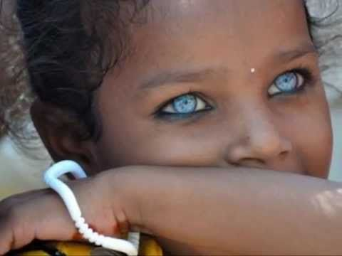 3 Extraordinary Video Pictures Of Ethnic Beauties With Blue Eyes