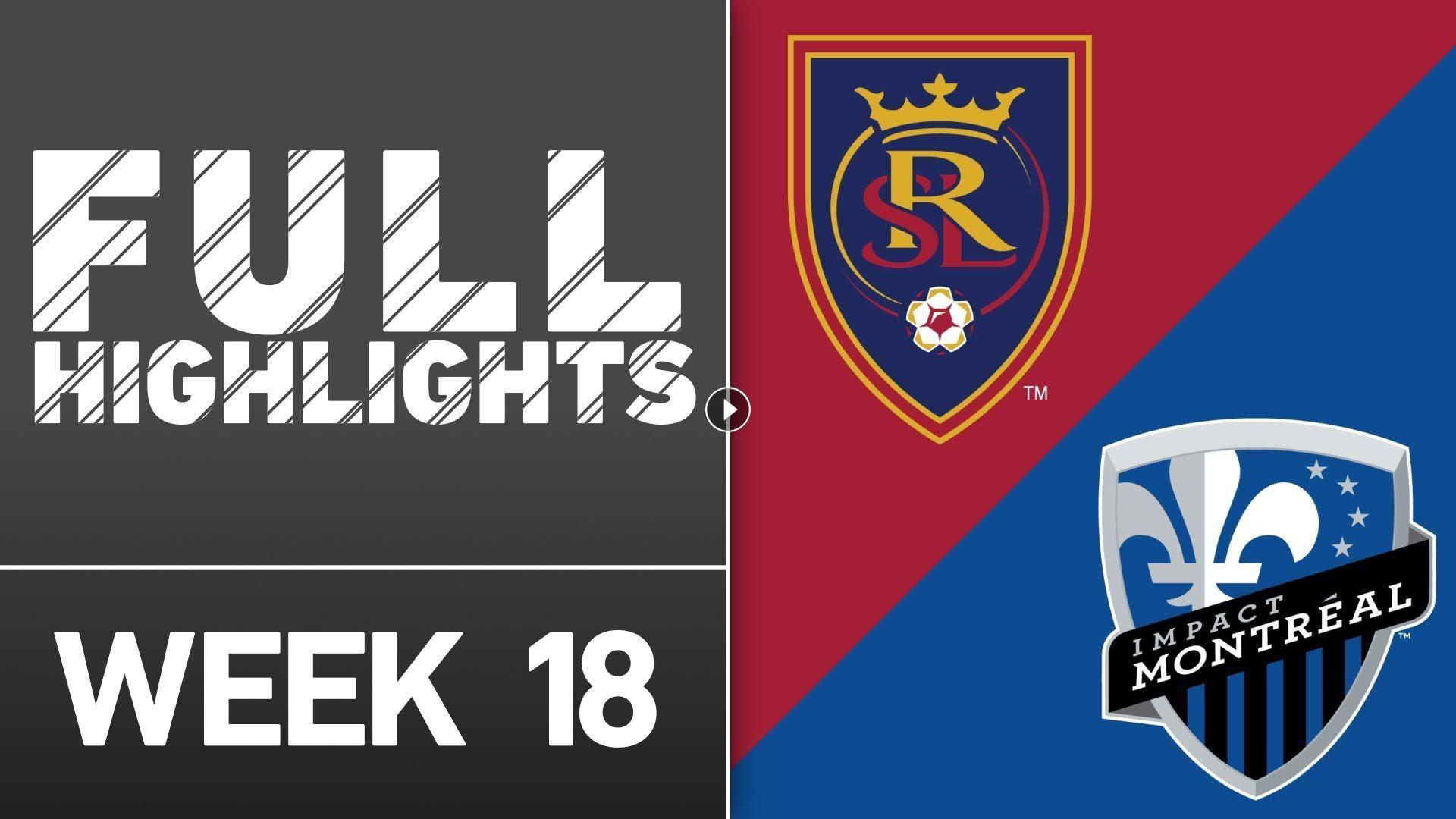 Soccer Highlights of Major League Soccer match: Real Salt Lake vs Montreal Impact Match result: Real Salt Lake 1 - 1 Montreal Impact Played on: July 1...