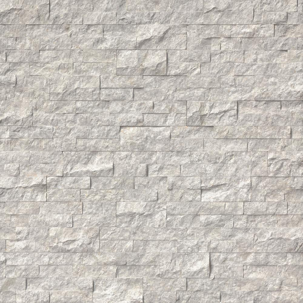 Msi Silver Canyon Splitface Ledger Panel 6 In X 24 In Marble Wall Tile 10 Cases 60 Sq Ft Pallet Lpnlmsilcan624 The Home Depot In 2020 Marble Wall Tiles Stacked Stone Stacked Stone Panels