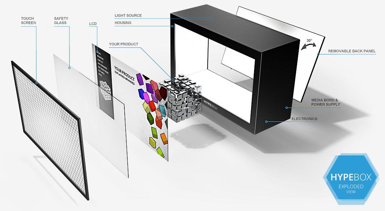 Support écran télé mural pour salon contemporain
