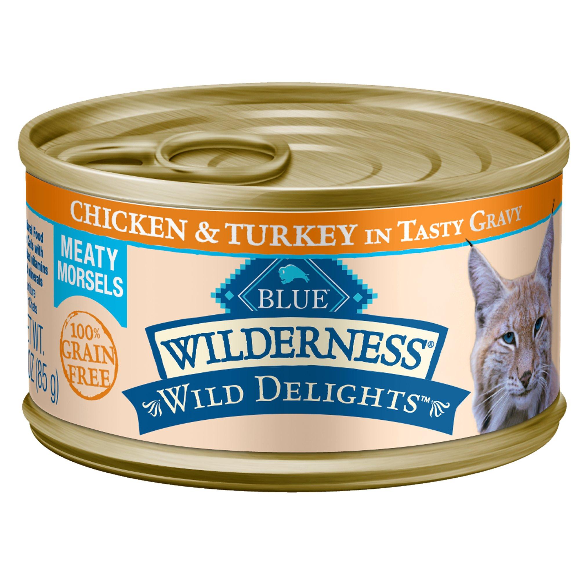 Blue Buffalo Blue Wilderness Wild Delights Meaty Morsels Chicken