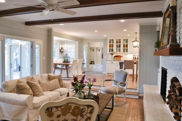Living Rooms I Love The Open Layout And Neutral Palette 5 Home Design Tips From Fixer Uppers Joanna