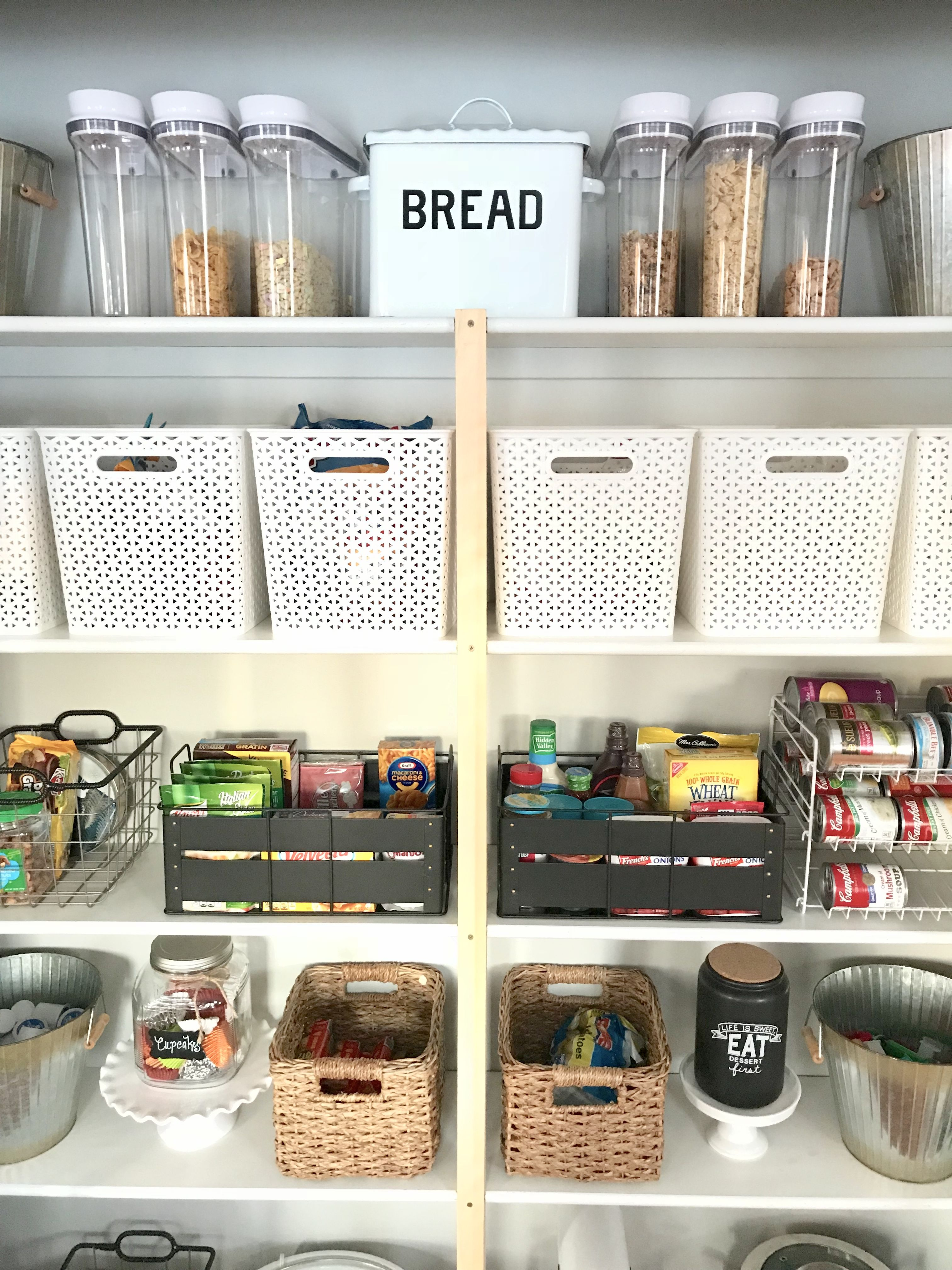 How to organize your pantry - farmhouse style – Ellery Designs #pantry #organization