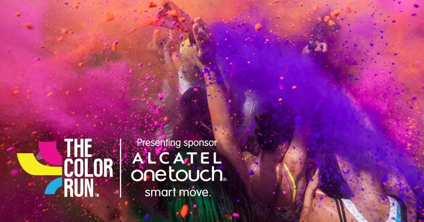 Powering #OneTouchOfColor at the Happiest 5K in the planet!
