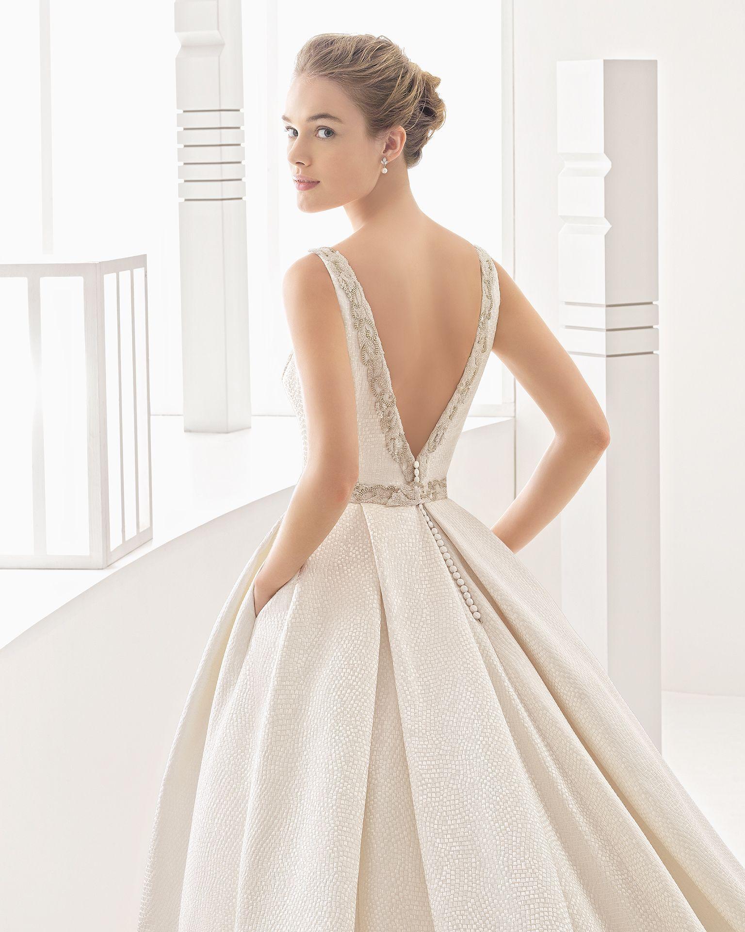 Namibia - 2017 Bridal Collection. Rosa Clará.   Hochzeitskleider ...
