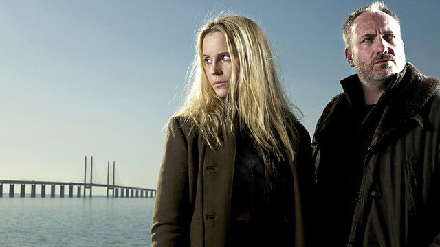 Saga And Martin From The Bridge Danish Movies Tvs Tv Series