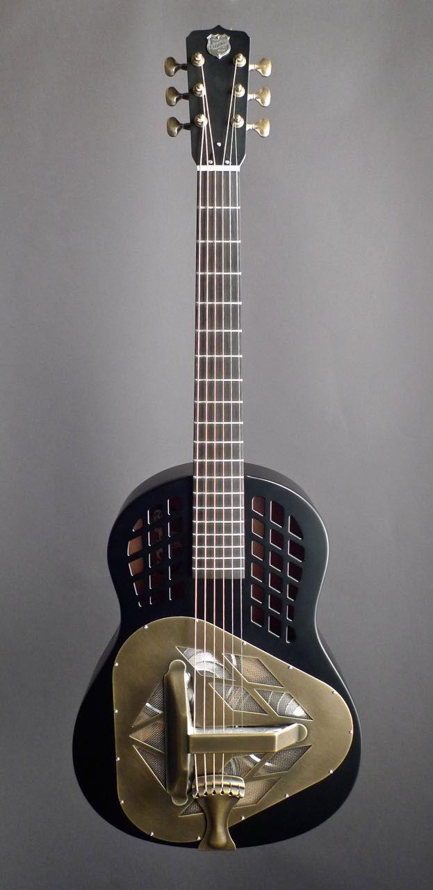 New M1 Mahogany Mahogany Resonator Guitar Lap Steel Guitar Guitar