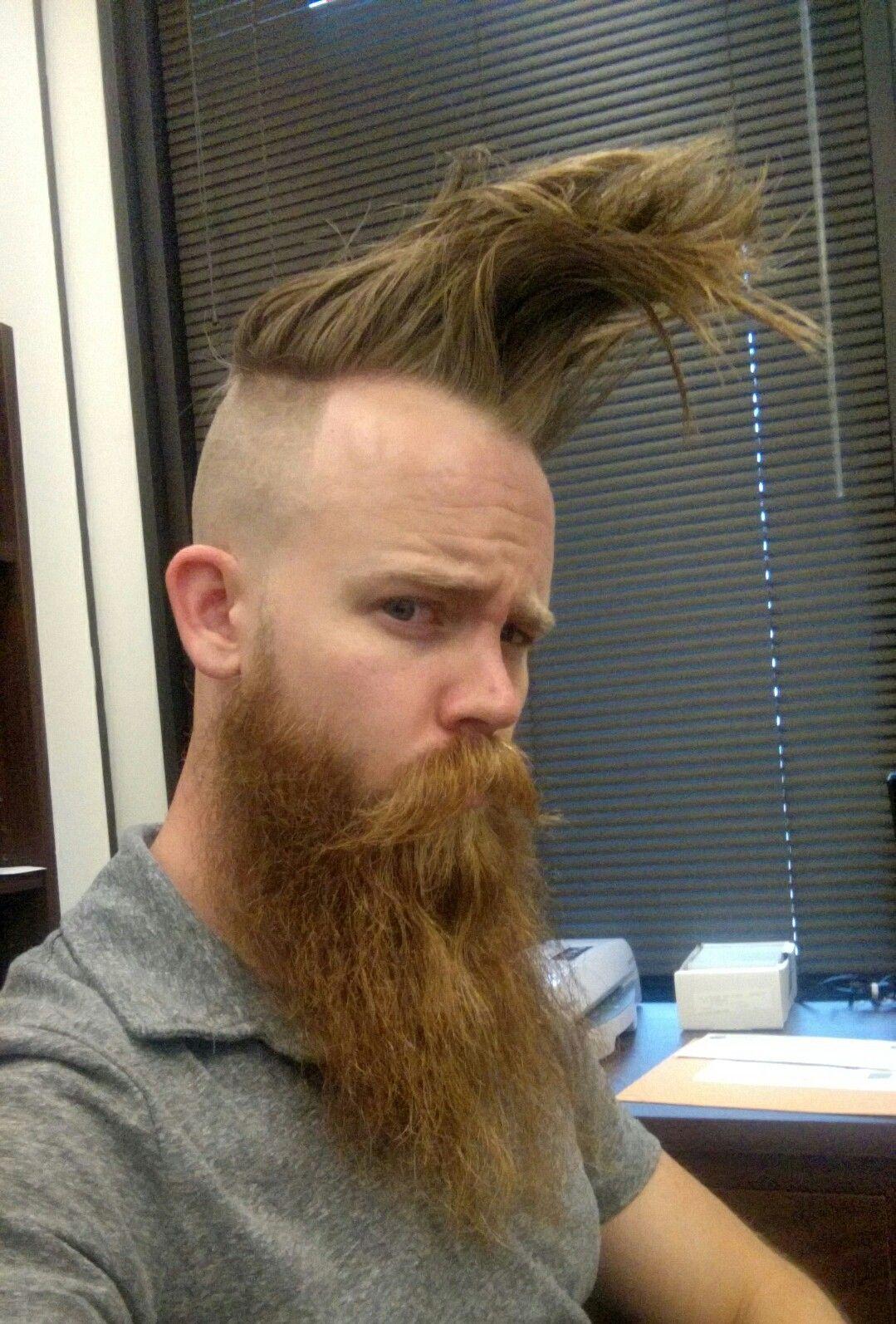 Redhead boy haircuts  concepts of cool beard styles popularbeardstylesbeard