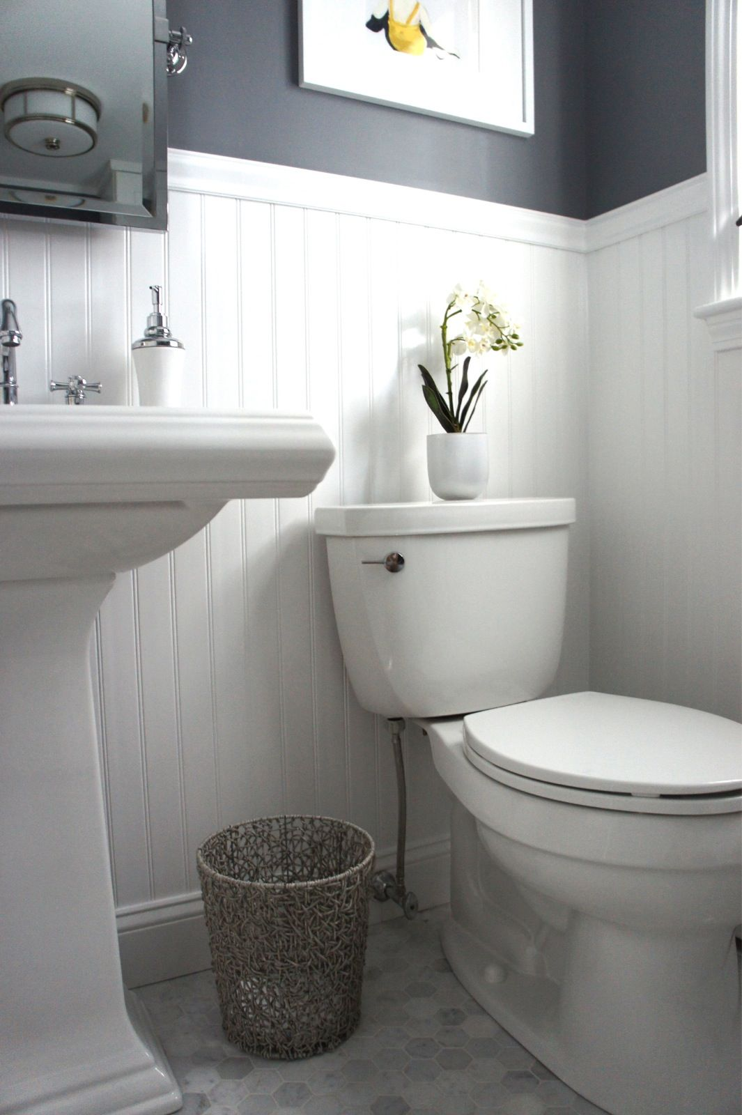 Is Your Half Bath Or Powder Room Cramping Your Style We Ve Got Expert Tips And Design Ideas To Make Your Powder Room Small Bathroom Decor Laundry In Bathroom