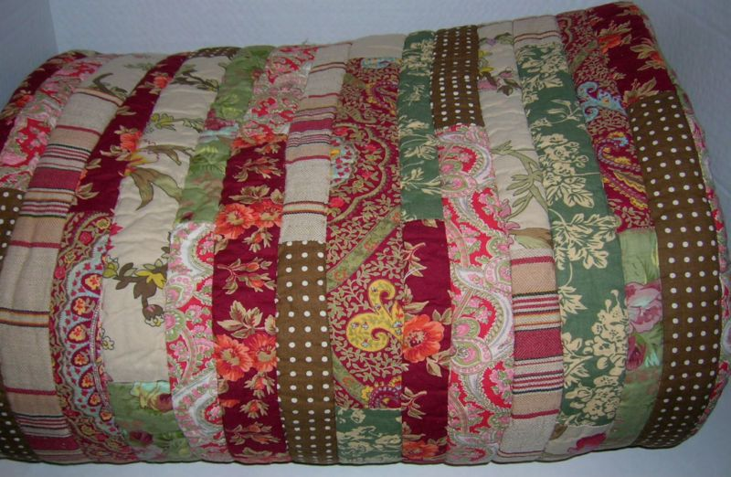 Pottery Barn Gemma Patchwork Full Queen Quilt New | Quilts ...
