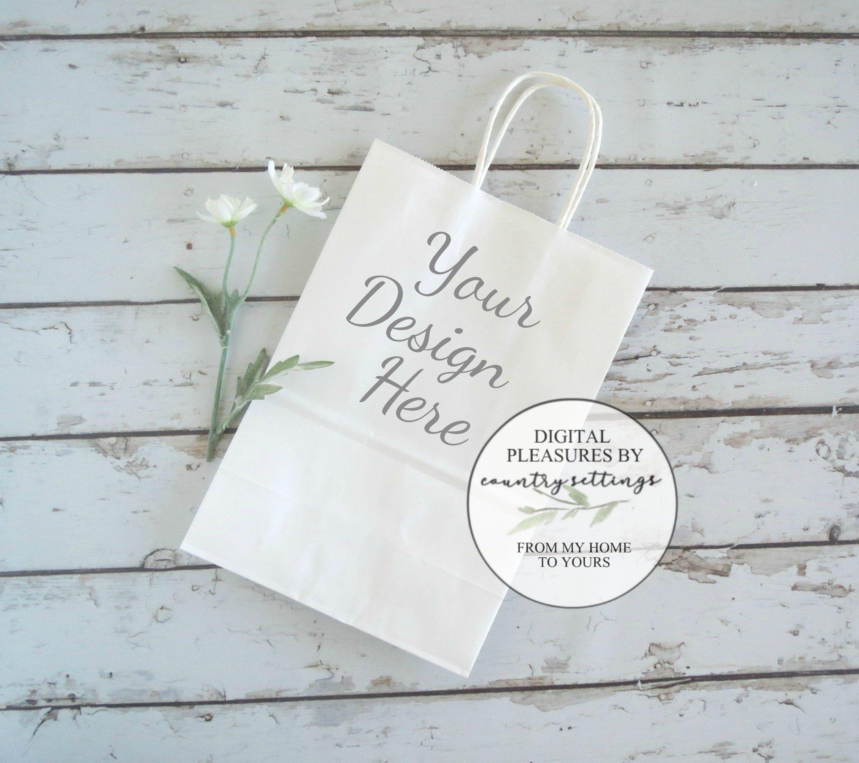 Download Blank White Gift Bag Mockup Wedding Gift Bag Mockup Gift Bag Etsy Bag Mockup Wedding Gift Bags Gifts