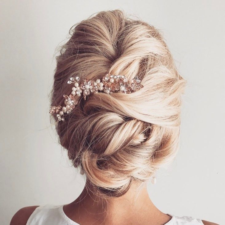 Gorgeous wedding hair updo to inspire you