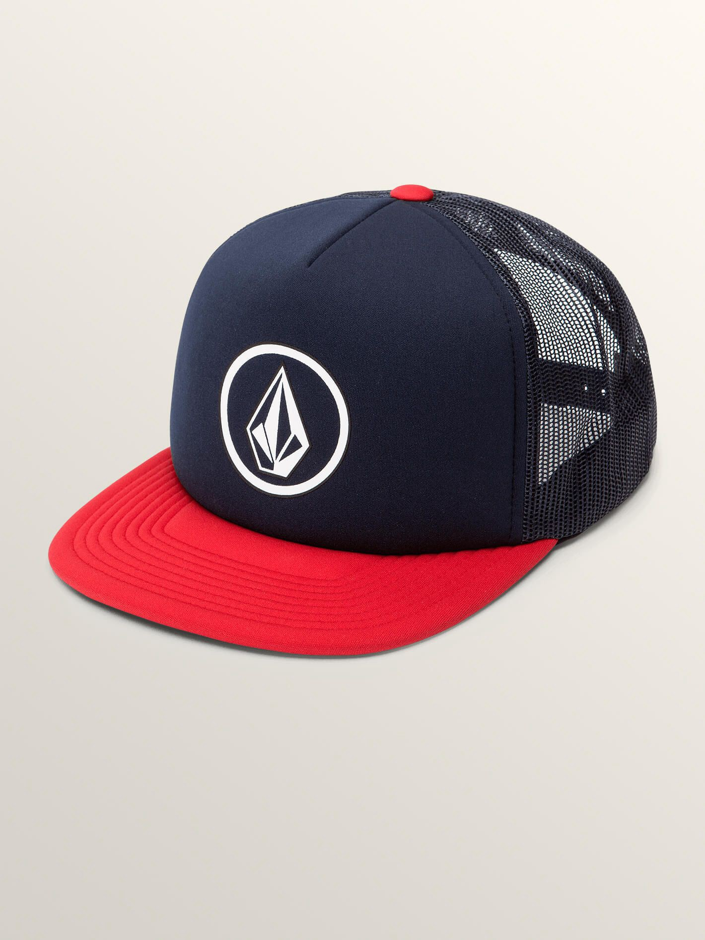 4a80faefa877 Volcom Full Frontal Cheese Hat - Engine Red O/S | Products | Hats ...