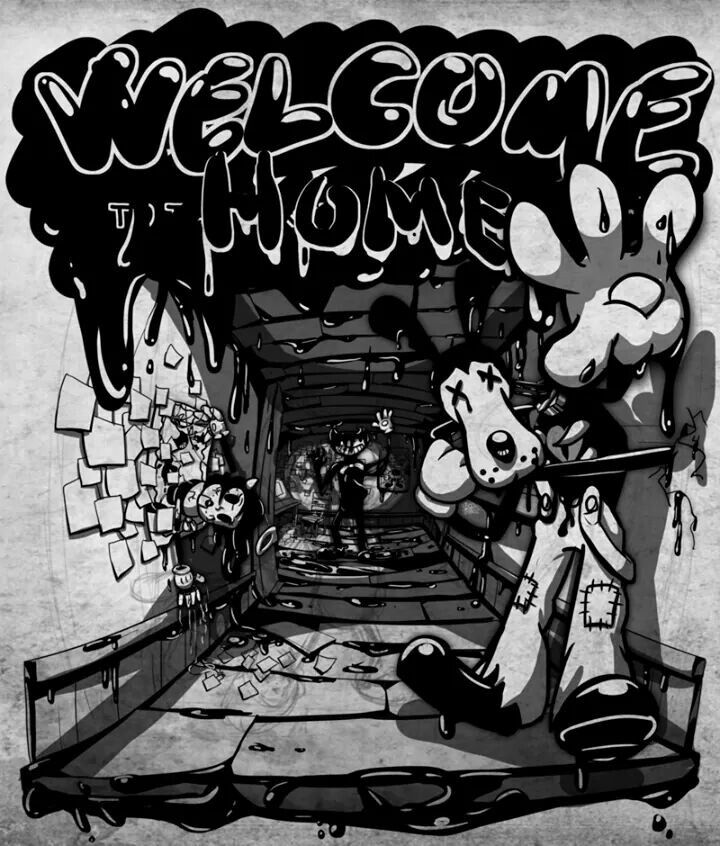 Welcome Back To Home With Images Bendy And The Ink Machine