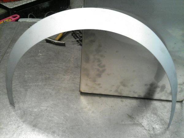 Jdm Custom Rolled Steel Fender Flares Corvair