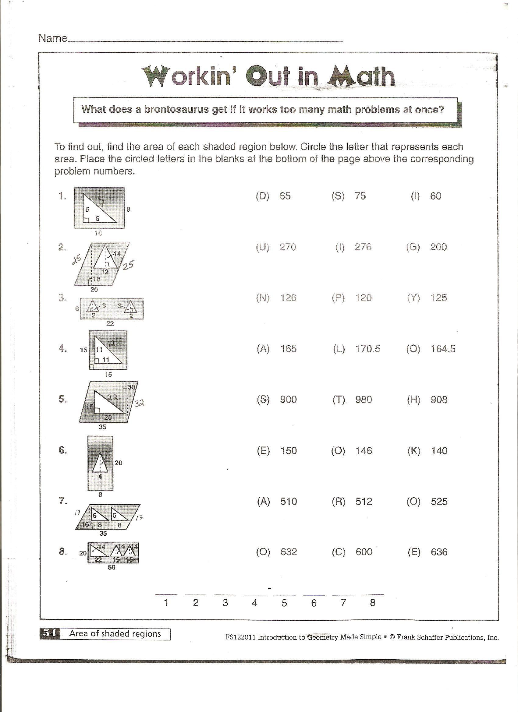 Polygon Worksheets 5th Grade Area Of Polygons Worksheets Free In 2020 Area And Perimeter Worksheets Perimeter Worksheets Angles Worksheet