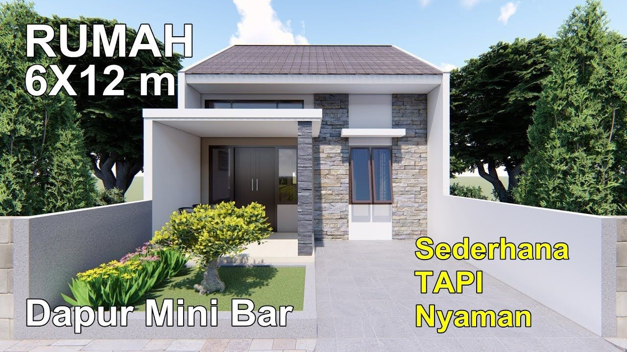 RENOVASI RUMAH TYPE 36/72#2 KAMAR TIDUR DENGAN DAPUR MINI ...