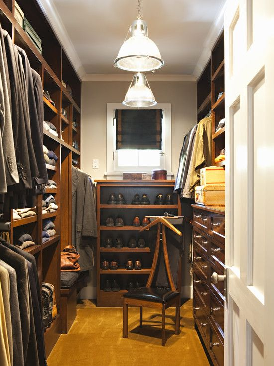 Master Bedroom Closet Walk In Built Ins