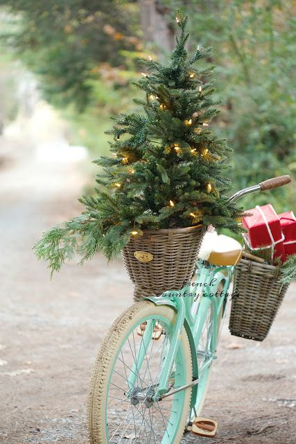 French Country Xmas Inspiration Pinterest Holidays, Bicycling