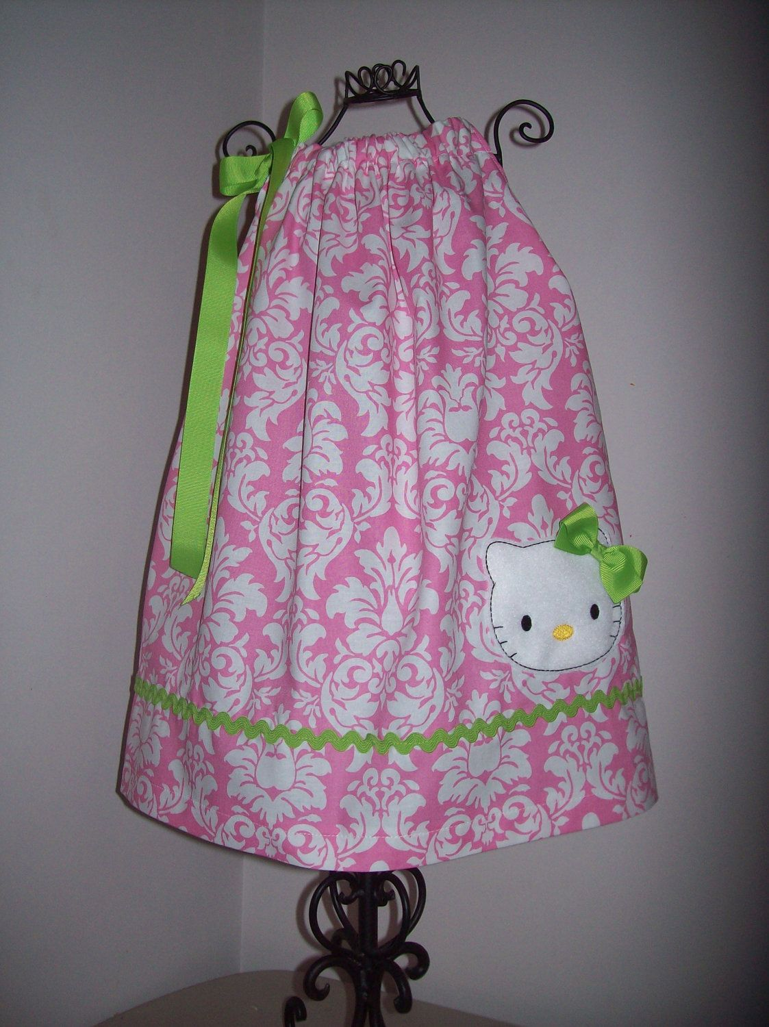 Hello Kitty Pillowcase Dress And Matching Hk Hair Bow