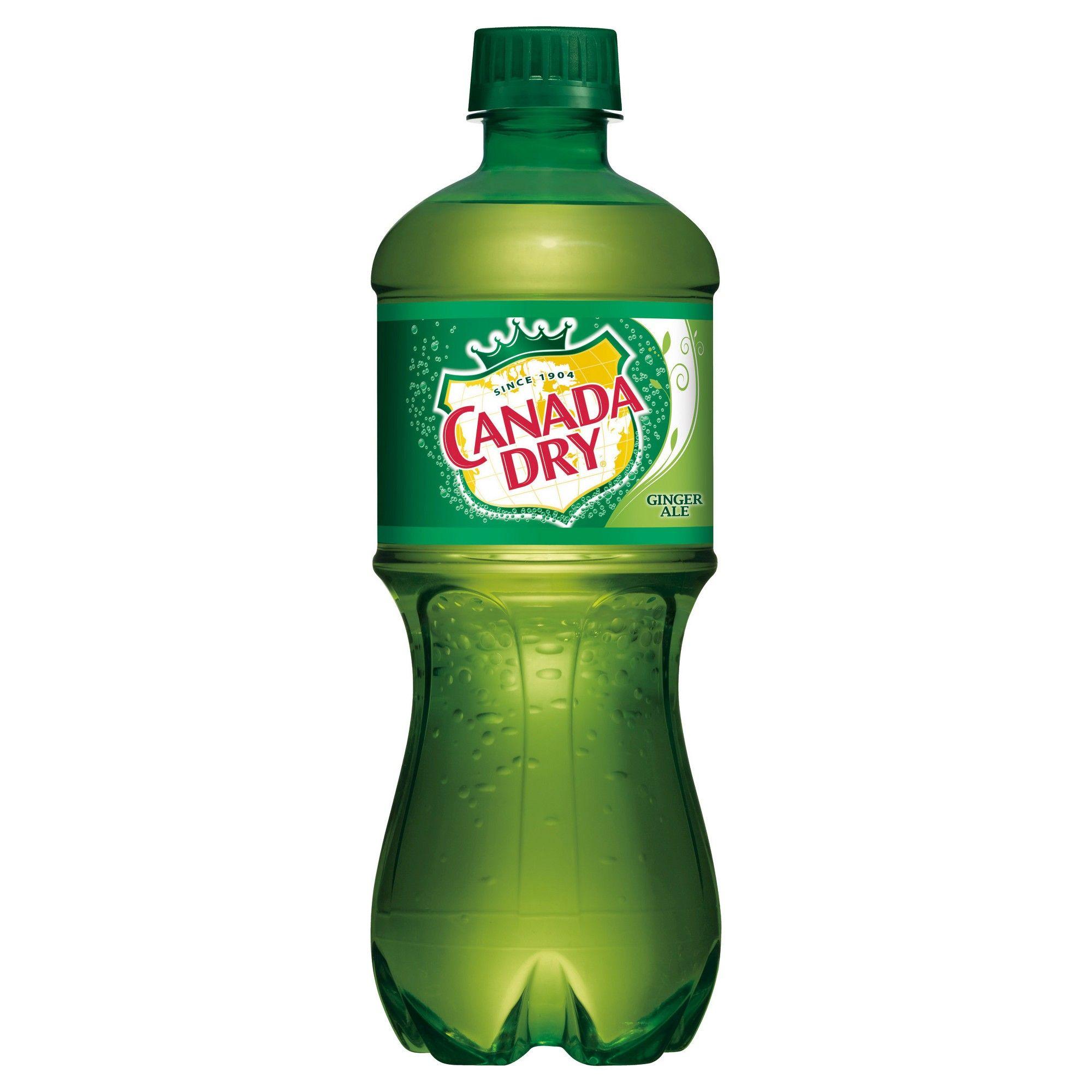 Canada dry ginger ale 20 fl oz bottle ginger ale dry