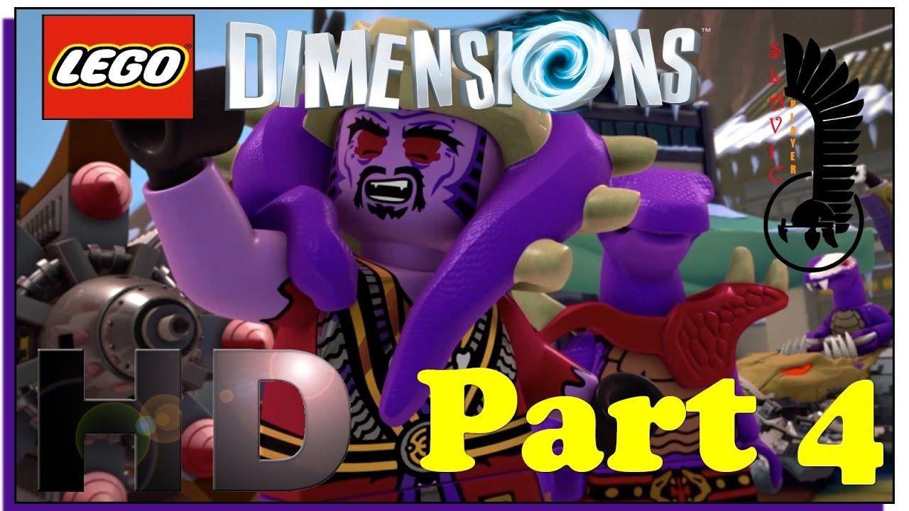 Lego Ninjago Lego Dimensions Gameplay Walkthrough Part 4 Lego Xbox Lego Dimensions Ninjago Lego
