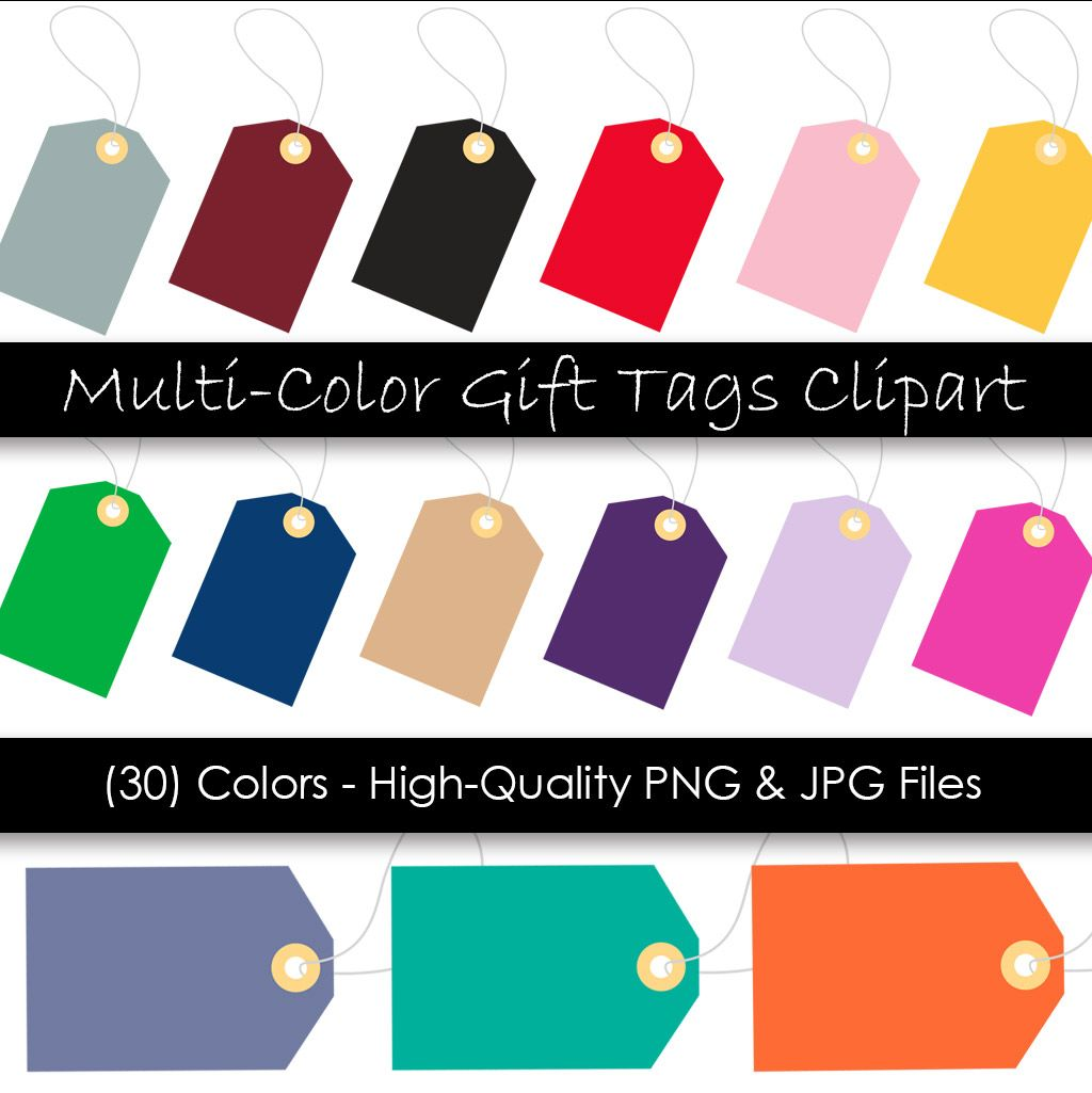 Gift Tag Clipart Digital Tags Clipart Images Hang Tags Etsy Clip Art Gift Tags Hang Tags