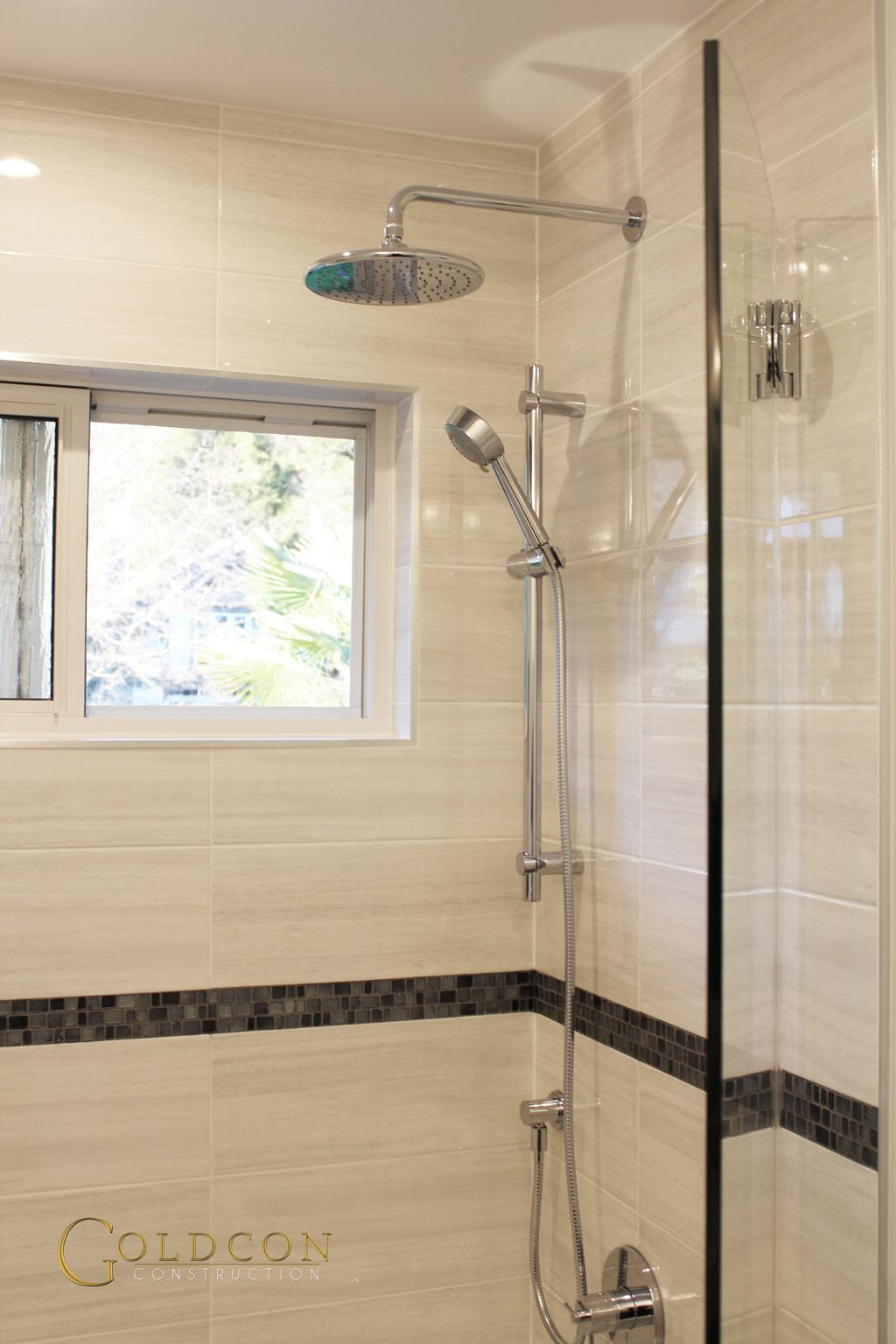 "Beautiful Bathroom Renovation Project Featuring 8"" x 20 ..."