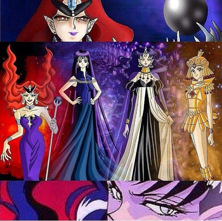 Evil Sailor Moon Villains: Queen Beryl Mistress 9 Queen