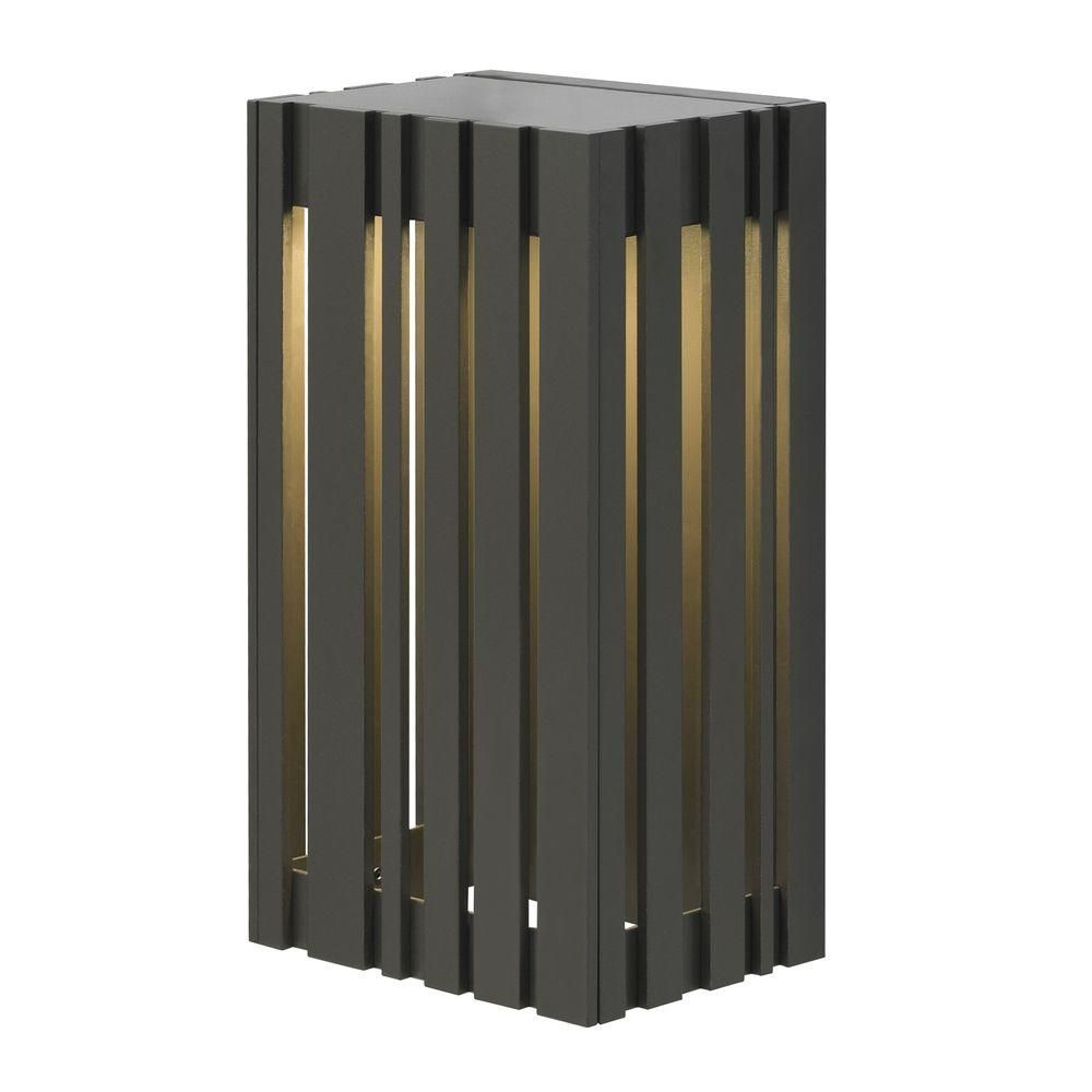 Uptown light outdoor bronze small led wall light products