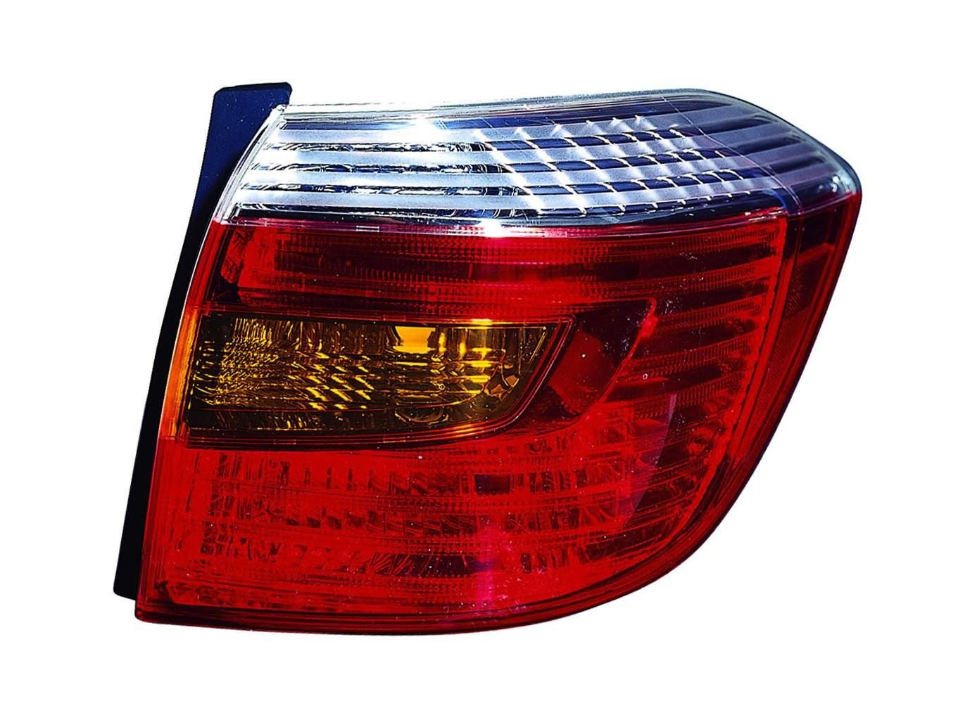Toyota Highlander 08-10 Tail Light Unit Sport Model RH USA Passenger Side NSF