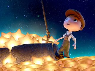 La Luna, Oscar nominated short and it's absolutely breathtaking(Hyphen, no hyphen, you understand).