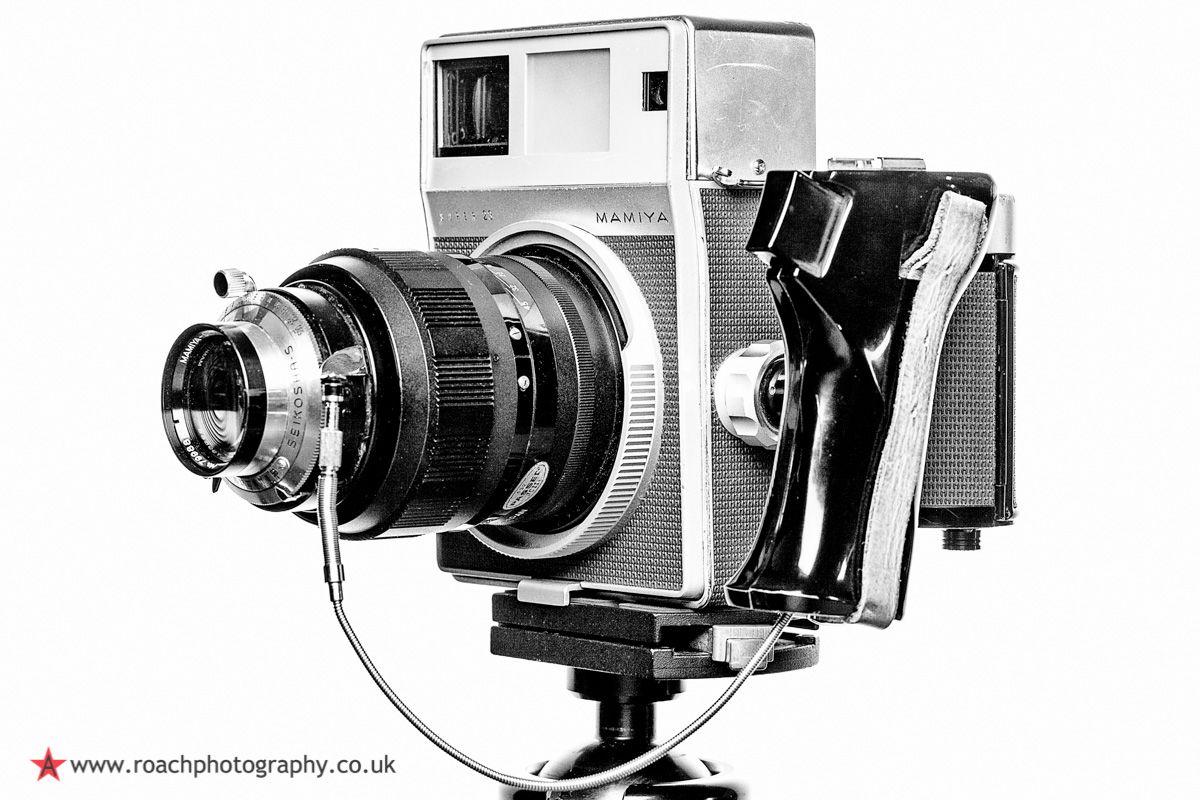 Mamiya Press Super 23 medium format camera