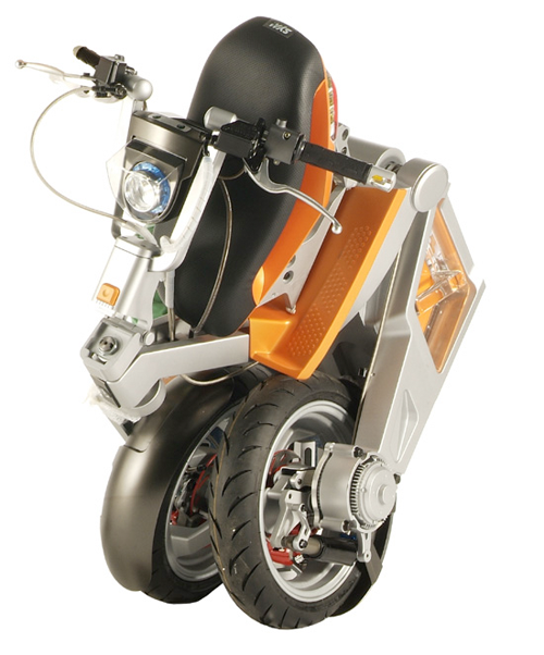 MIT-designed folding electric scooter.