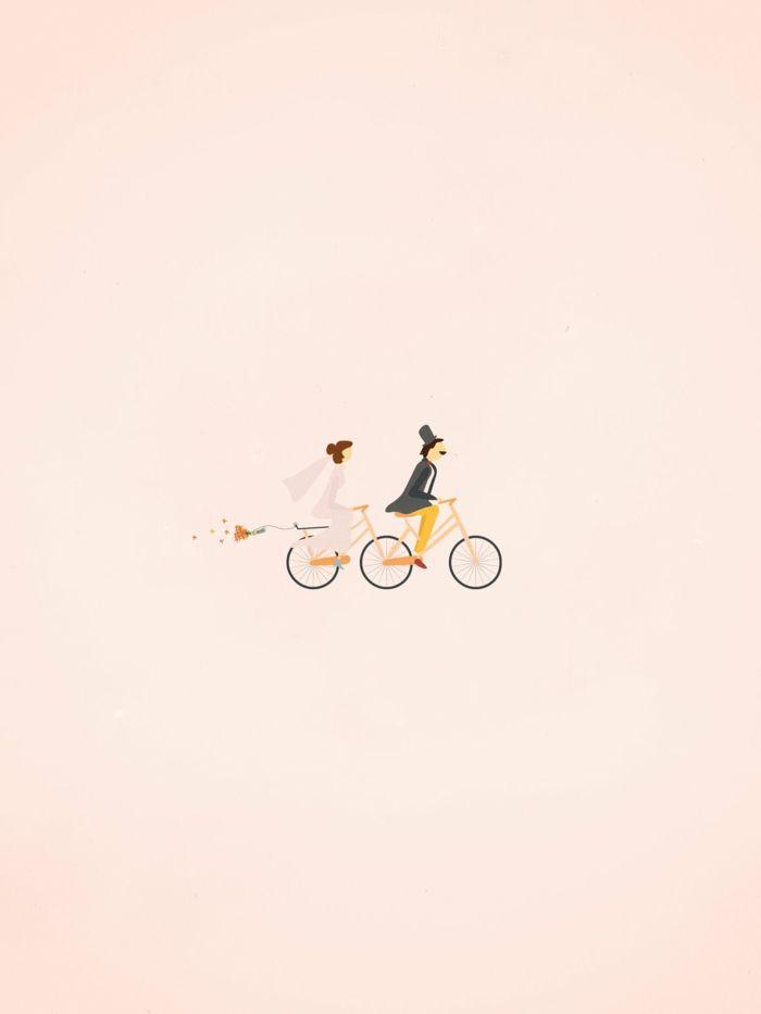 ▷ 1001 + idées de l'illustration mariage pour célébrer votre amour