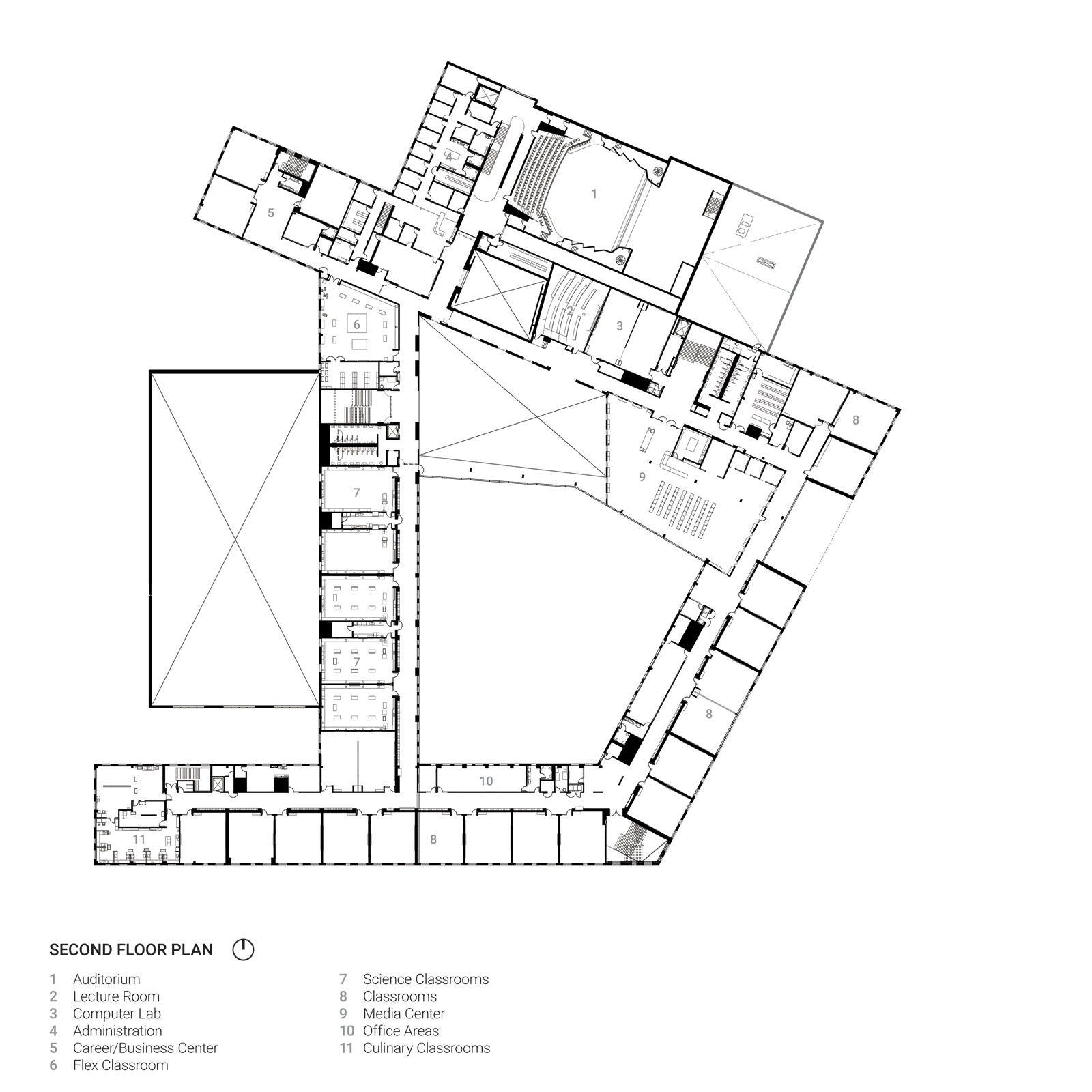 pin by david johnson on precedents floor plans pinterest Lab Room Cartoon learning environments floor plans house floor plans