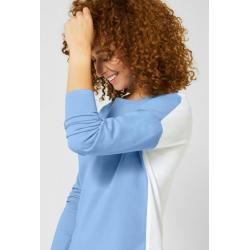 Photo of Street One – Shirt Gerdi mit Colourblock in Classy Blue Street OneStreet One