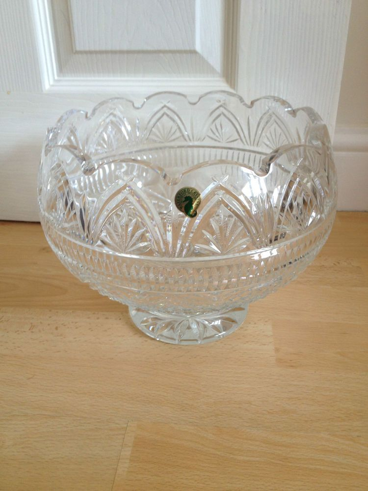 Rare Billy Briggs Waterford Crystal Designer Gallery Collection Wedding Bowl 9 5