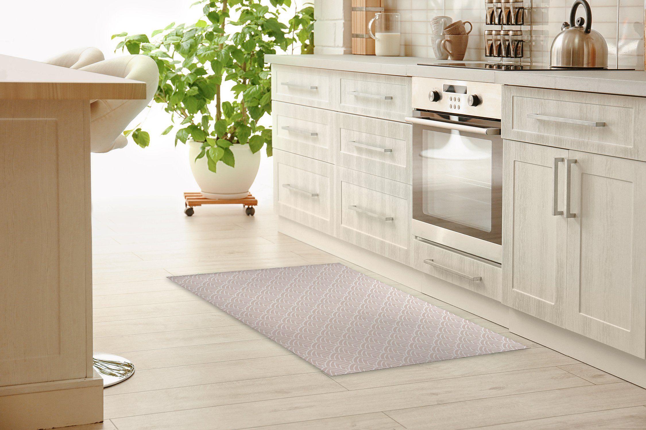 SALON NEUTRAL Kitchen Mat By Becky Bailey - 2ft x 3ft