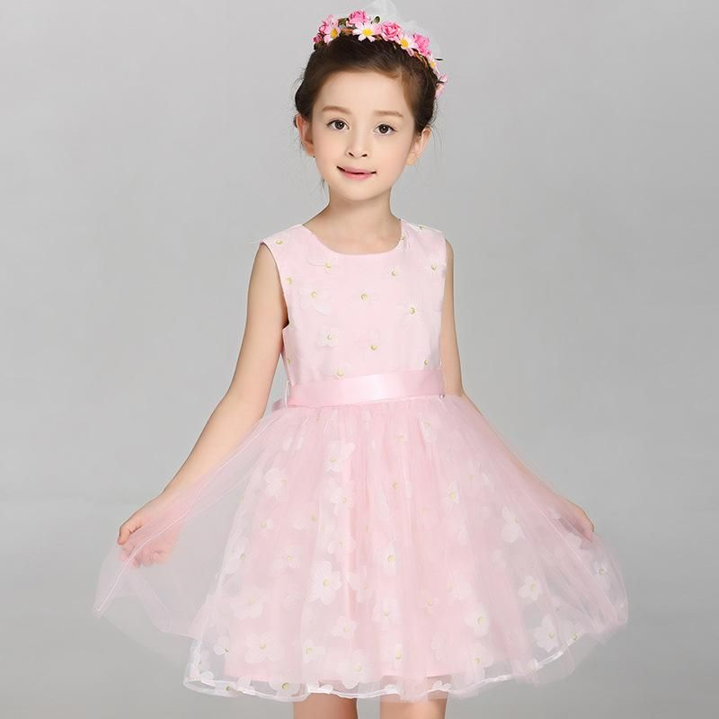 2018 New Arrival Girls Lace Princess Dress New Summer Brand Baby Girls  Party Dress Kids Clothes Cotton Children Age 5-14T. Yesterday s price  US   18.79 ... 7c2e3b508b06