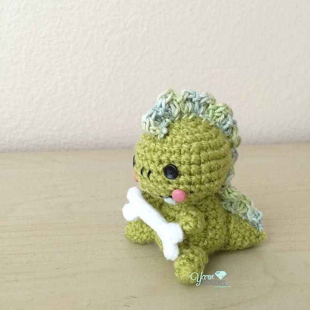 Ravelry: Dyno Mini Dinosaur pattern by Peng Lim | Knitting and ...