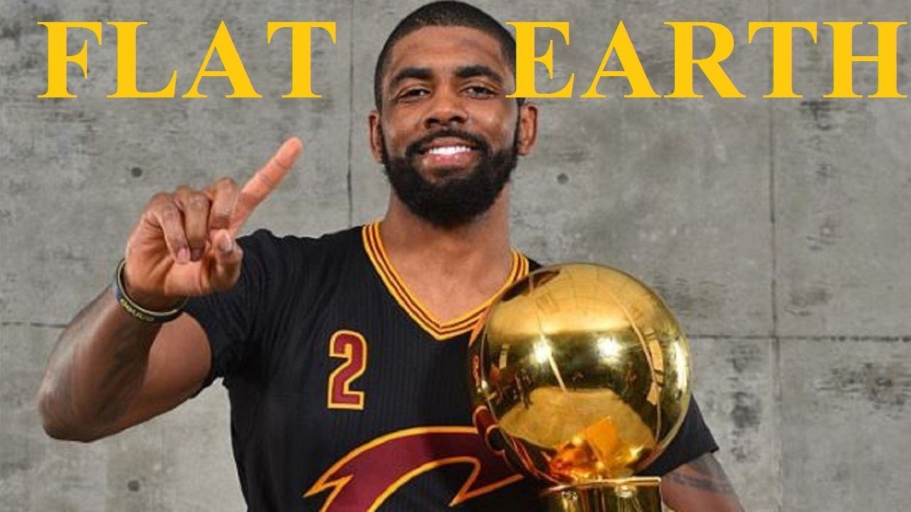 Us Basketball Star Kyrie Irving Audio The Earth Is Flat Kyrie Irving Nba Stars Basketball Star