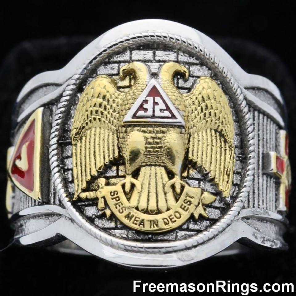 32nd degree scottish rite masonic rings pinterest 32nd degree scottish rite biocorpaavc Choice Image