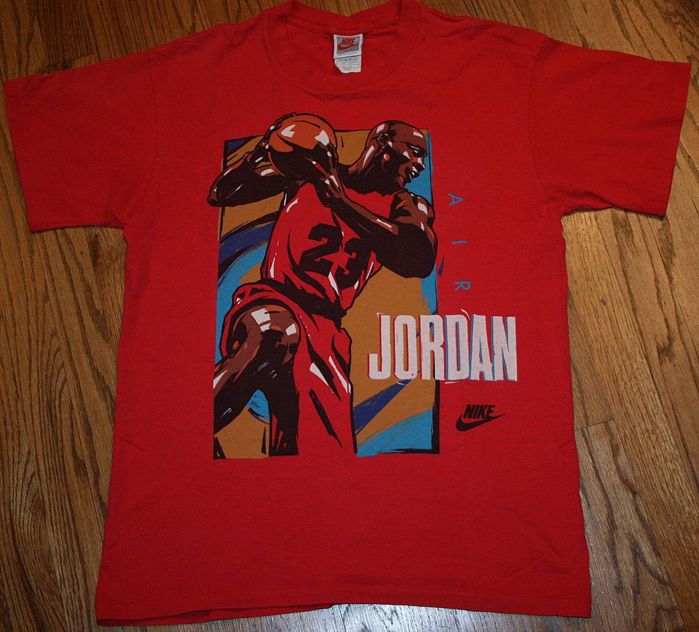 20d9b02381a Nike Air Jordan vintage T-Shirt Men's Large Chicago Bulls #Nike #GraphicTee