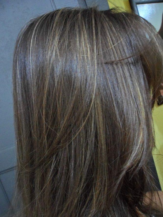 Cabelos Castanhos Escuros Com Luzes Tendência 2017 Hair