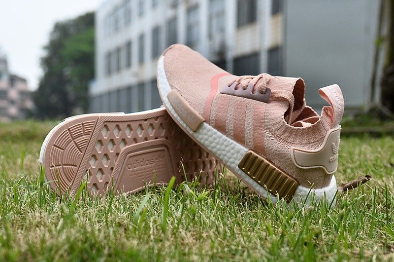 various colors cae03 46de0 Adidas NMD Runner Women's Rose Gold - light pink Running ...
