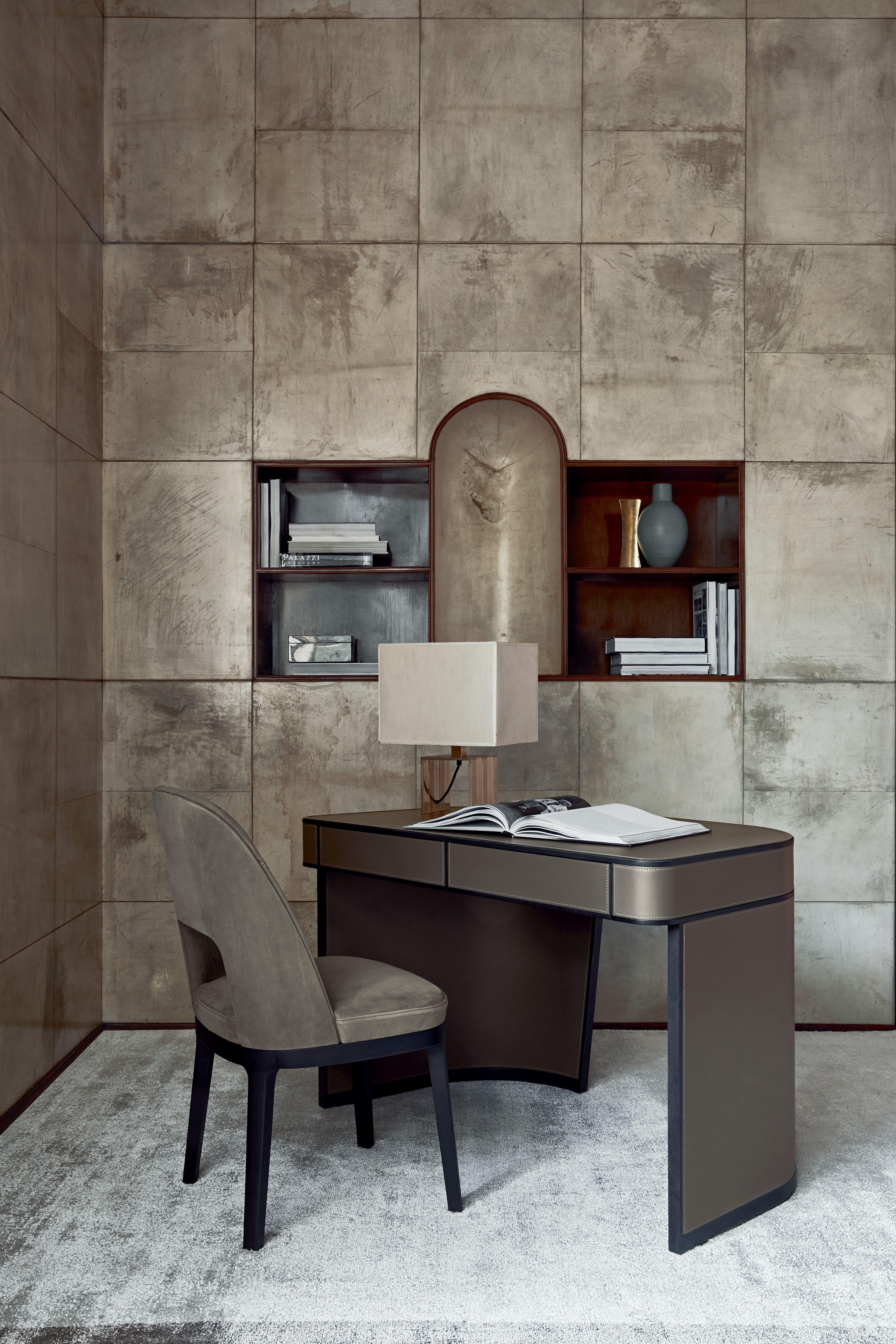 Flexform MOOD AMOS desk and JUDIT chair design Roberto Lazzeroni
