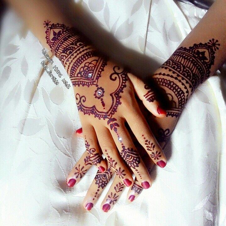 Henna Wedding Mbk Ayu Henna Hand Tattoo Henna Hand Henna
